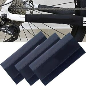 3pcs Cycling Bicycle Bike Frame Chain stay Protector Guard Nylon Pad Cover Wrap