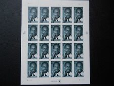 """(2) FULL SHEET """"MALCOLM X"""" COLLECTIBLE STAMPS (UNUSED)"""