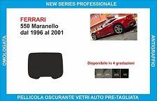 window tint glass Ferrari 550 Maranello from 1996-2001 set rear window
