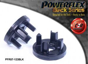 PFR57-123BLK Powerflex Black For Porsche 993 94-98 Transmission Mnt Large Insert