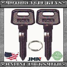 2 NEW BLANK KEYS FOR YAMAHA MOTORCYCLES CODES: C32010-C79897- YH48 / YAMA-19I