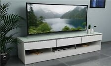 TV Stand Entertainment Unit 1900MM Cabinet Drawer Plasma LCD LED White