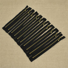 20cm Black Closed End Zippers Closures Connector for Craft Costume Design Sewing