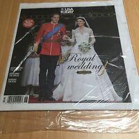 USA TODAY Royal Wedding Prince William Princess Kate Middleton April 29, 2011