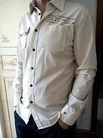 Relakz Herren Teenager Hemd Mens Shirt langarm Gr M 50 52 Aktuell