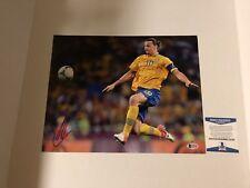 Zlatan Ibrahimovic Signed 11x14 Photo Sweden Soccer Football La Galaxy Becket