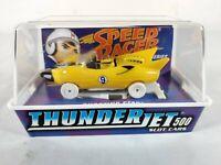 Speed Racer Shooting Star ThunderJet 500 Slot Car ~ White Chase