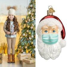 Santa Claus face head ornament tree decoration hanging ornaments A9A2