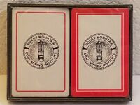 Vintage Rocky Mountain Coal Mining Institute Collectible Playing Cards Case Set