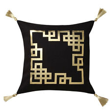 Logan and Mason Kowloon Gold Square Filled Cushion 45cm x 45cm