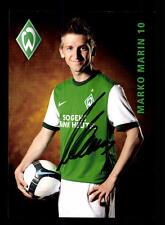 12 Autogrammkarten Werder Bremen 2009-10 Original Signiert+A 158265