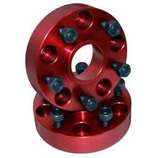 Jeep Wrangler Yj Tj 87-06 Alloy Usa Wheel Spacer Pair Red X 11301