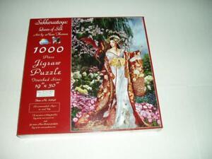 Nene Thomas Sunsout Jigsaw Puzzle Queen of Silk NIB
