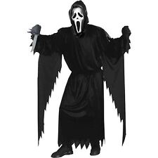 Official Scream Horror Movie Mens Halloween Fancy Dress Adults Costume Outfit