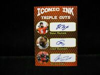 Baker Mayfield Odell Beckham Jarvis Landry Iconic Ink Triple Cuts