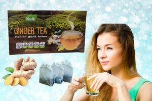 Ginger Tea Bags 20 Ceylon Pure Natural BOPF Black Cold30 Herbal Original Premium