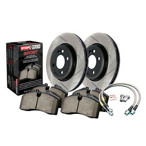 StopTech 977.44000F StopTech Sport Brake Kit Fits 98-10 GS300 GS430 IS300 SC430