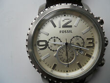 Fossil men's chronograph,quartz,battery & water resistant Analog watch.