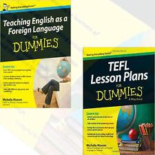 Michelle Maxom Collection (TEFL Lesson Plans For Dummies) 2 Books Set Paperback