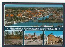 Husum , Ansichtskarte, 1994 gelaufen