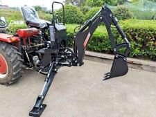 New Bhm5600 Backhoe Excavator Tractor Attachment Kubota Deere + Pto Pump + Tank