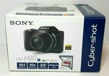 SONY Cyber-Shot DSC-H20 Digital Camera 10.1MP in original Box w/ Extras