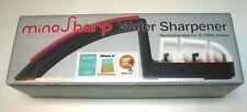 Mino Sharp Ceramic Water Knife Sharpener No.220 Black Japan Import