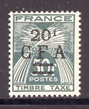 REUNION CFA Taxe 43 TRES BEAU, neuf xx Cote: 15 €. Prix intéressant.