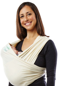 Baby K'Tan BABY CARRIER Organic, (Natural Organic, Size XL) MSRP $50