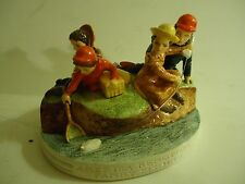"""America Remembers """"Family Fishing"" Sebastian Miniature 1982"