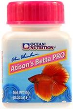OCEAN NUTRITION ATISSON'S BETTA PRO 15 GR MINI PELLET NUTRITIVO CALIDAD ACUARIO