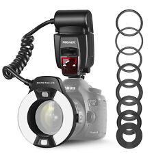 Neewer Macro TTL Ring Anillo Luz de Flash con LED Lámpara de Ayuda AF