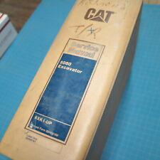 CAT Caterpillar 5080 Excavator Repair Shop Service Manual maintenance guide book