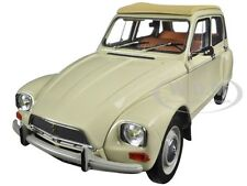 1970 CITROEN DYANE 6 ERABLE BEIGE 1/18 DIECAST CAR MODEL BY NOREV 181620