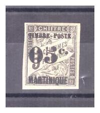 MARTINIQUE N° 19 . 05 c  SUR  5 c  SIGNE  CALVES    NEUF   *. SUPERBE