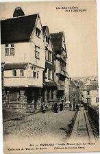 CPA  La Bretagne Pittoresque -Morlaix-Vieille Maison prés des Halles   (206913)