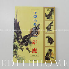 Craney Art - Chinese Painting Book Learn How to Paint Eagle Bird (FREE SHIPPING)