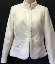 NWT! Chico's Smooth Plush Serah Jacket Antique Ivory Size 0-Small 4-6 $89.00