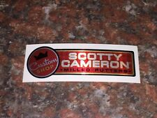 Scotty Cameron Custom Shop 2018 Geoluxe Red Putter Shaft Band