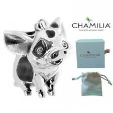 Genuine Chamilia Silver Disney Moana Pua Pig Charm Bracelet Bead NEW