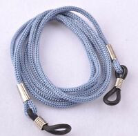 Grey cord chain lace lanyard string strap eye-glasses mag sunglasses reading