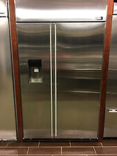 """ZISS480DHSS-MONOGRAM 48"""" BUILT-IN SIDE BY SIDE REFRIGERATOR STAINLESS DISPLAY"""