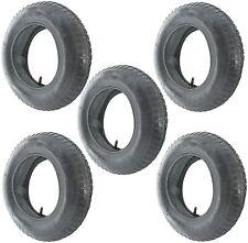 Ride On Lawnmower Wheel Tyre & Inner Tube 3.50 - 8 Rubber Innertube Tyres x 5