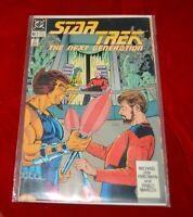 Star Trek: The Next Generation Comic Book #2 DC Comics 1989 original plastic