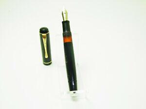 1940´s OSMIA 64 Pistonfiller Fountain Pen Flexy F Nib F to BBB