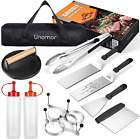 Griddle Accessories Kit - 13Pcs Griddle Tools Set with Cast Iron Grill Press, Me