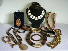 Mixed job lot costume jewellery