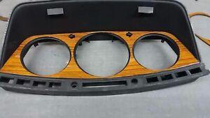Fit for W124 Mercedes Benz Speedometer Cover Zebrano Design E200 E320 E500