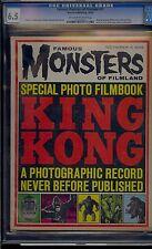 FAMOUS MONSTERS OF FILMLAND #25 CGC 6.5