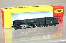 Minitrix n 203 Set Gebaut Br 4 6 2 Britannia Klasse Lokomotive 70042 Lord